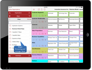 Evolver Canvas - To create and manage business maps.